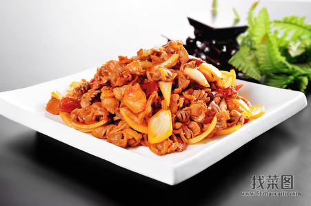 海枣椒炒鸡胗 - 找菜图