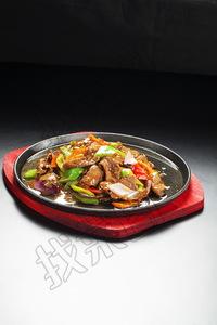铁板牛肉 - 找菜图