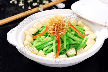 石锅芦蒿瑶柱 - 找菜图
