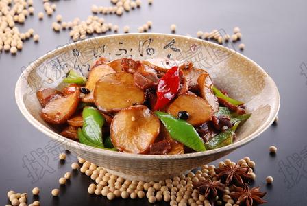 杏鲍菇炒鸡胗 - 找菜图