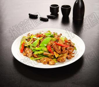 双椒炒苦肠 - 找菜图