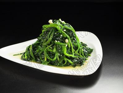 蒜蓉菠菜 - 找菜图