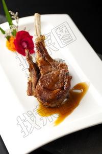 法式烤羊排 - 找菜图