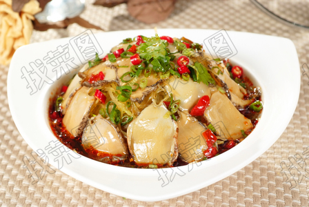 捞汁鲜鲍 - 找菜图
