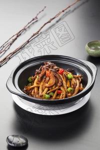 砂锅茶树菇 - 找菜图