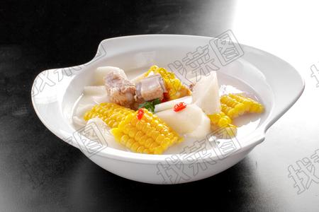 排骨玉米炖山药 - 找菜图