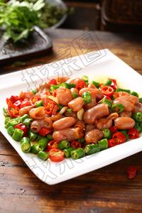 辣椒炒鱼肚  - 找菜图