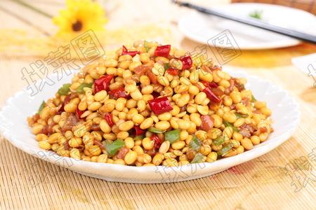 肉丁黄豆芽 - 找菜图