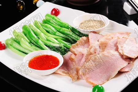 港式菜心生煎肉 - 找菜图