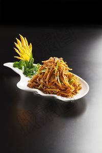 肉丝蒜苗杏鲍菇 - 找菜图