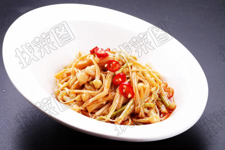 捞汁金针蘑 - 找菜图