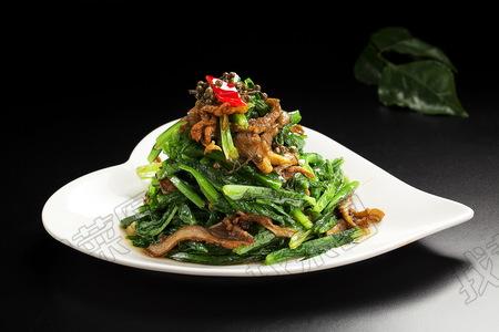 鲜蘑油麦菜 - 找菜图
