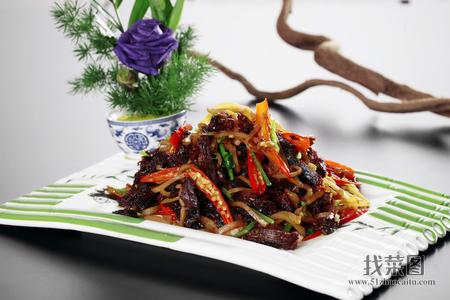 狍子肉炒咸菜 - 找菜图