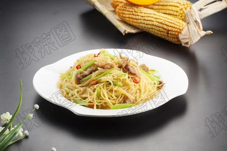 肉炒香芹土豆丝 - 找菜图