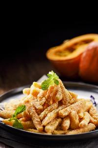 燕麦片焗南瓜 - 找菜图