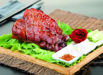 烤猪脸 - 找菜图