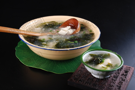 紫菜豆腐汤 - 找菜图