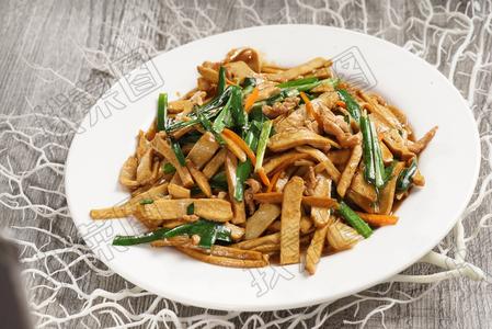 炒豆干 - 找菜图