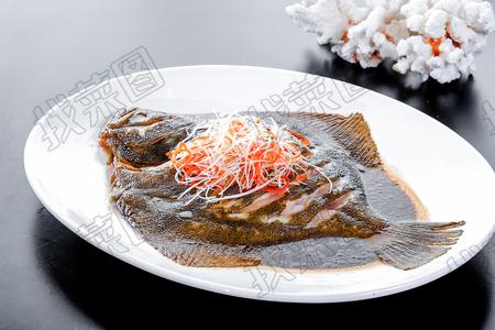 清蒸多宝鱼 - 找菜图