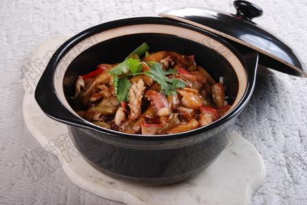 海鲜茄子煲 - 找菜图