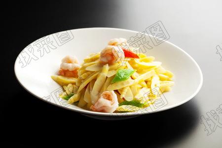 虾仁炒笋尖 - 找菜图