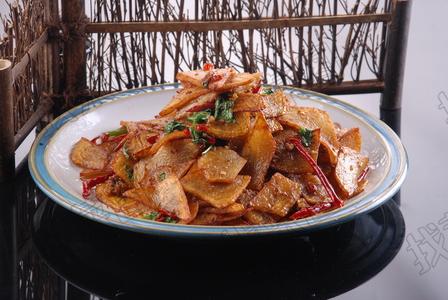 鱼籽焗土豆片 - 找菜图