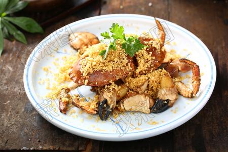 避风塘面包蟹 - 找菜图
