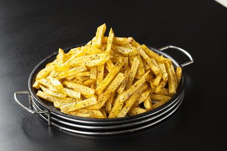 铁板黑椒土豆条 - 找菜图