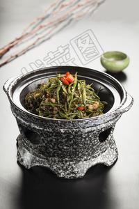 石锅煸豆角丝 - 找菜图