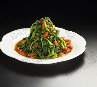 菠菜花生米 - 找菜图