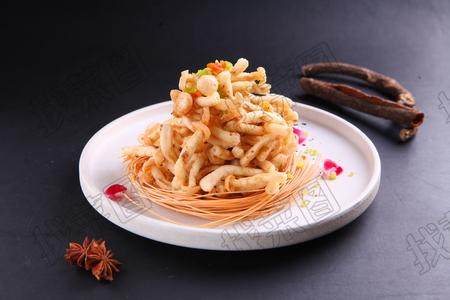 干炸菌菇 - 找菜图