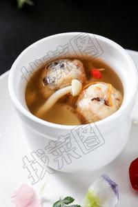 菌菇煲萝卜丸 - 找菜图