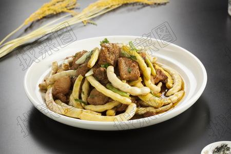肉炖沟黄 - 找菜图