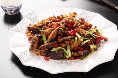 干煸素鳝丝 - 找菜图