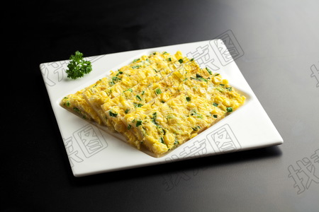 关东玉米葱花饼 - 找菜图
