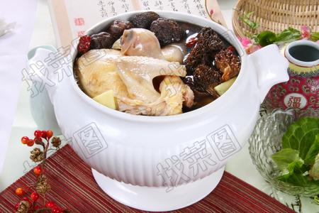 双菌炖老鸡 - 找菜图