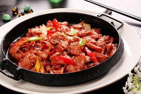 铁板蒙古牛肉 - 找菜图