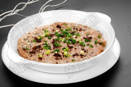 梅菜蒸肉饼 - 找菜图