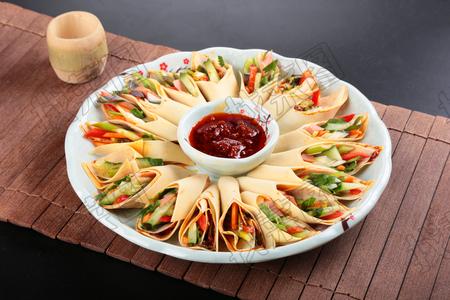 风味蔬菜卷 - 找菜图