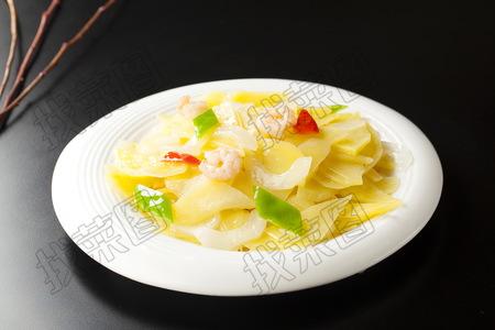 虾仁老黄瓜炒土豆片 - 找菜图