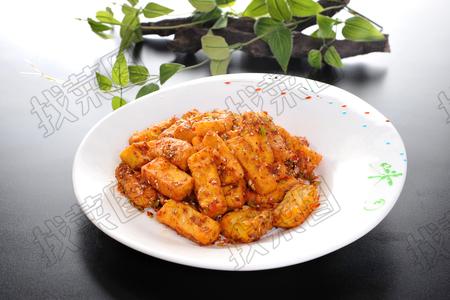 椒盐手工豆腐 - 找菜图