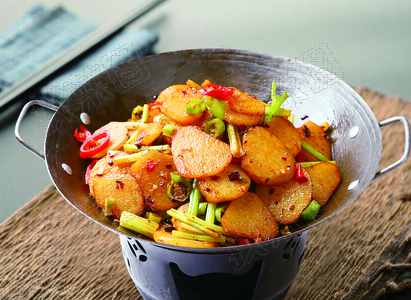 干锅土豆片 - 找菜图