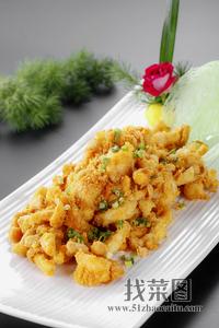 虾仁肉松菌 - 找菜图