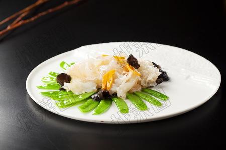 碧绿敲虾片 - 找菜图