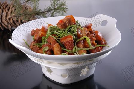 红焖肉炖豆角丝 - 找菜图