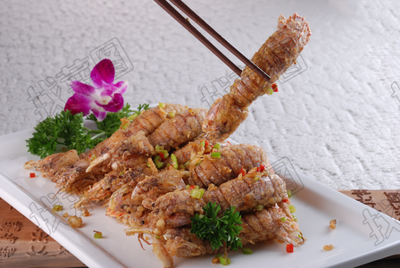椒盐虾爬子 - 找菜图