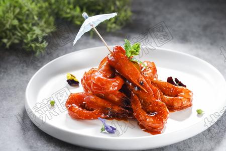 鸿运㸆大虾 - 找菜图