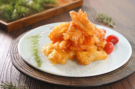 脆皮大虾 - 找菜图