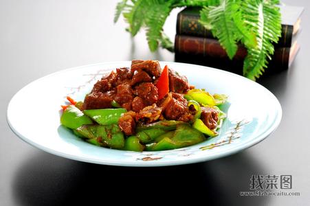 酱椒烧牛肉 - 找菜图