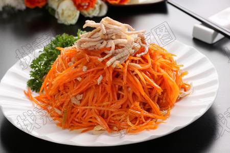 胡萝卜肉丝 - 找菜图